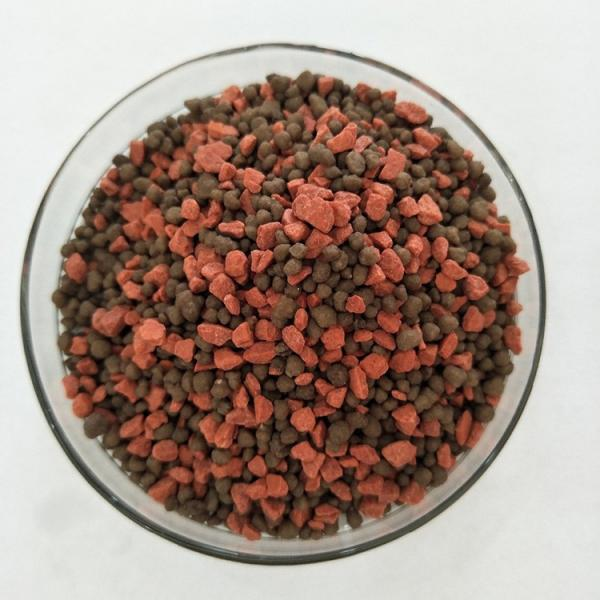 Black Granular Fertilizer Rich in Organic Matter 20% Humic Acid with Trace Elements